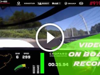 La Porsche la plus rapide au monde