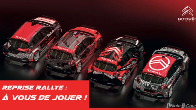 La reprise a sonné chez Citroën Racing