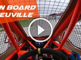 Le Cross Car de Neuville plus rapide que des SuperCars
