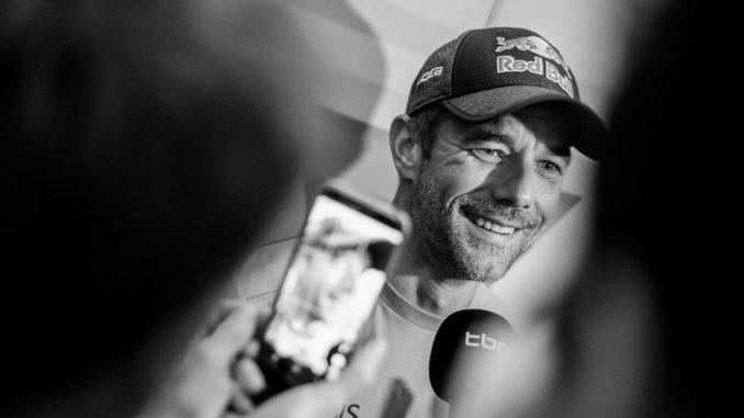 Loeb au Dakar 2021 sur une Toyota