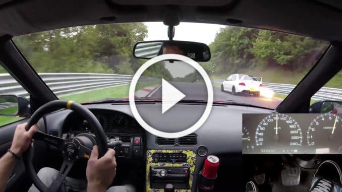 Nissan 200SX sur le Nürburgring