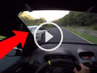 Peugeot 206 RC vs Porsche GT3