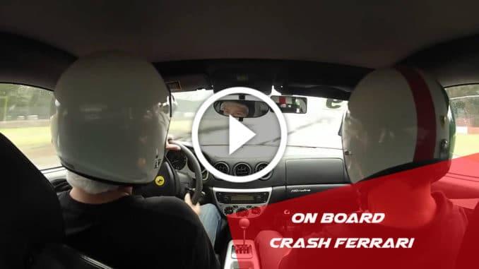 il plante une Ferrari 360 lors d'un stage de pilotage