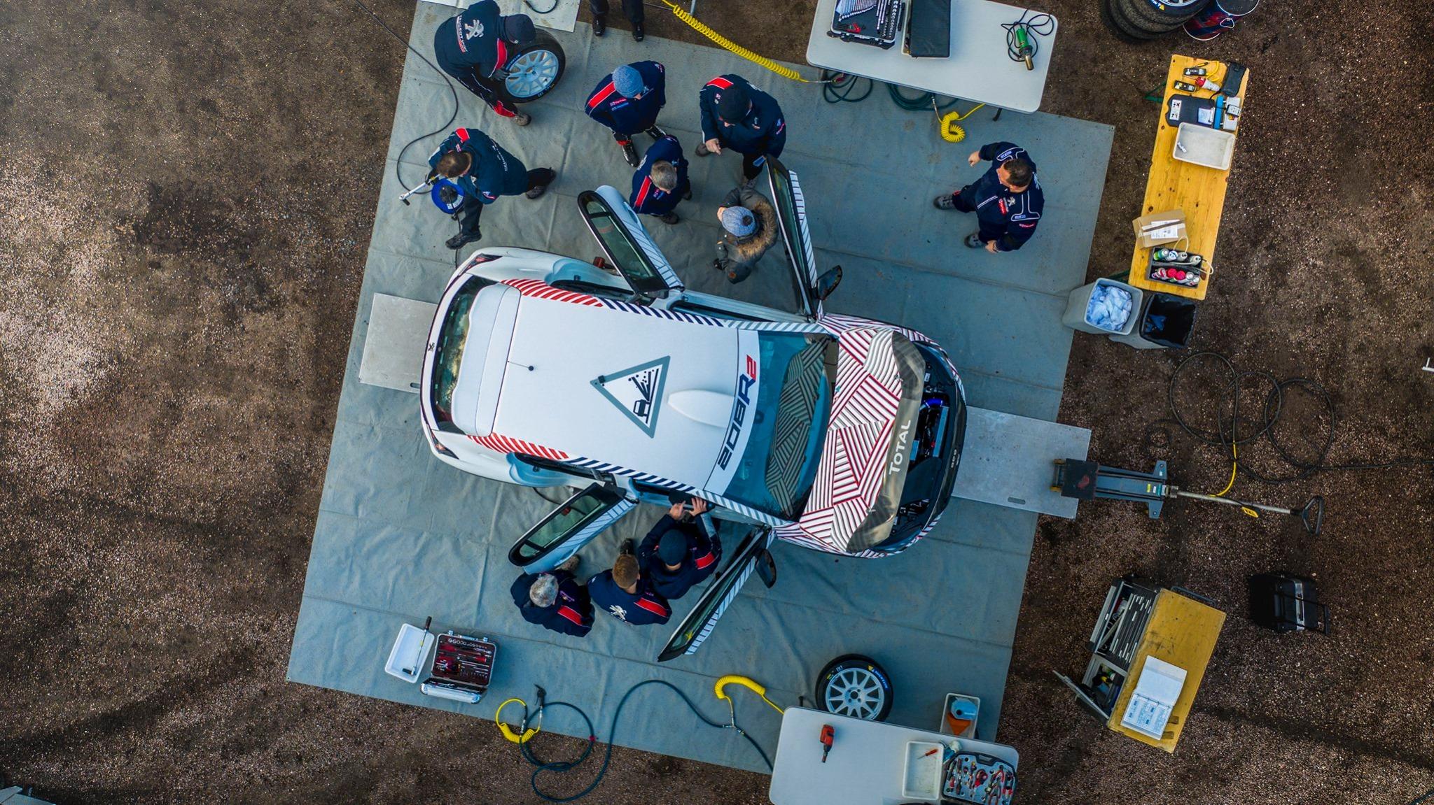 Calendrier modifié pour la 208 Rally Cup   Pilote de Course