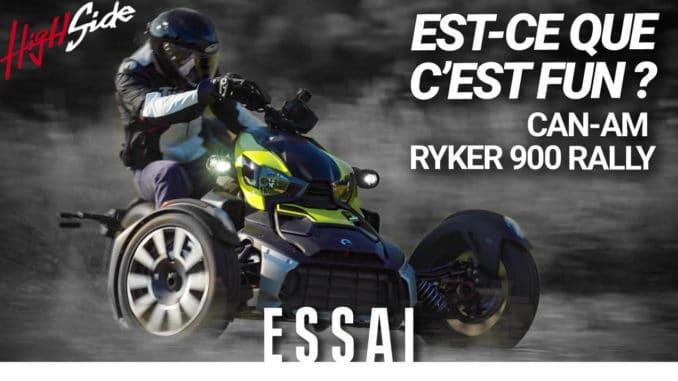 Can-Am Ryker 900 Rally