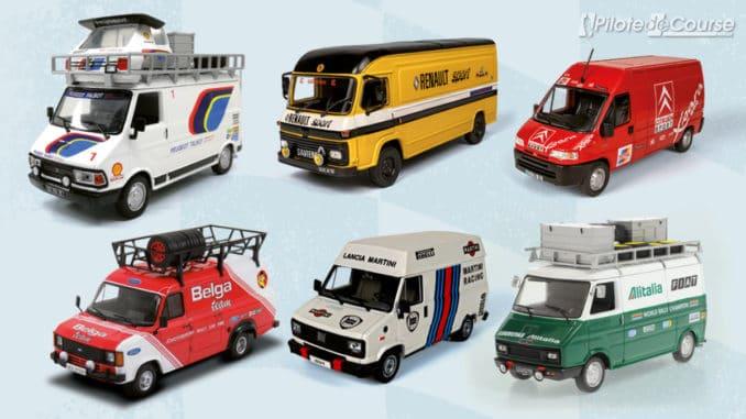 Collection assistance rallye chez Altaya