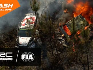 Crash et incendie pour Paddon et Tanak