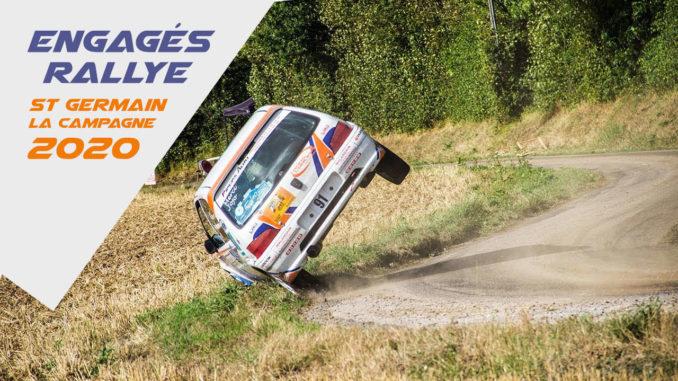 Engagés Rallye Saint-Germain-la-Campagne 2020