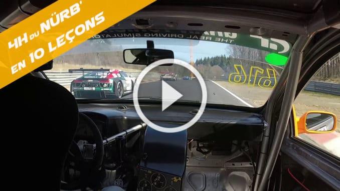 Les 4 Heures du Nürburgring en Clio Cup et en 10 leçons