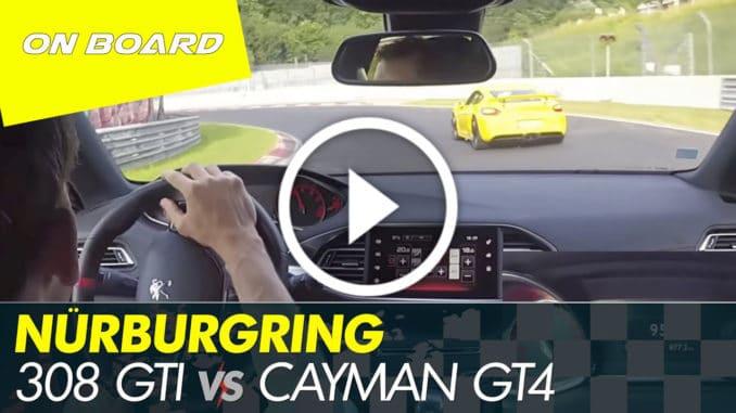 Peugeot 308 GTI vs Cayman GT4