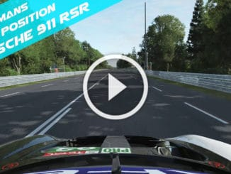 Porsche 911 RSR - Pole Position 24H du Mans 2020 play