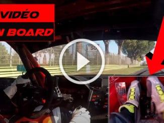 Talon-pointe en Honda NSX
