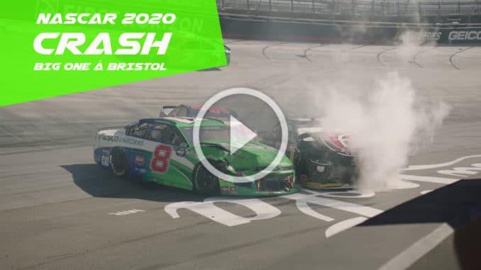 NASCAR : premier Big One depuis la reprise