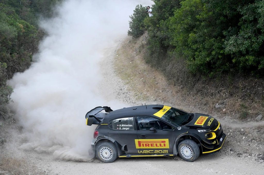 WRC 2021 : Mikkelsen et Pirelli au travail