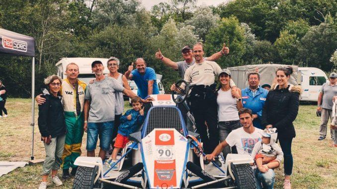 David Viarouge, son équipe, ses amis.
