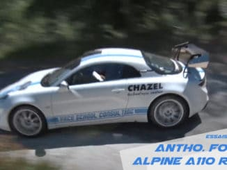 Anthony Fotia Alpine A110
