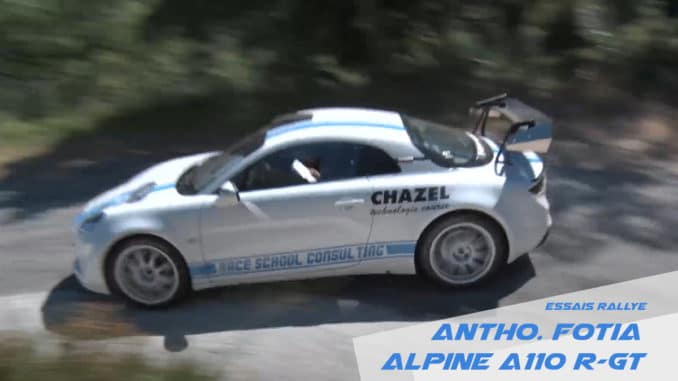 Anthony Fotia Alpine A110