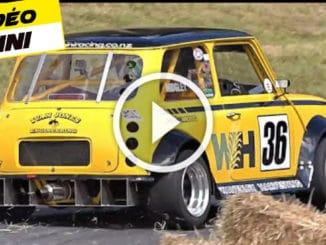 Mini de folie avec moteur central arrière