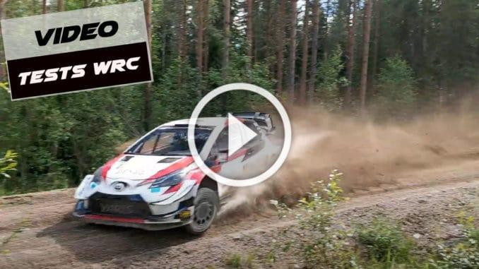 Sébastien Ogier prépare le Rallye d'Estonie