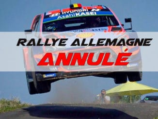 Annulation du Rallye d'Allemagne 2020