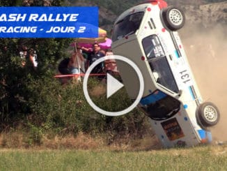 Crash sur le Rallye Gap Racing 2020