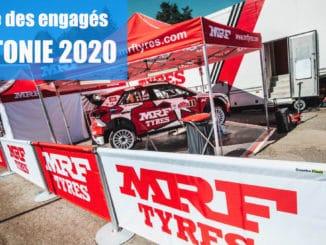 Engagés Rallye de Lettonie 2020