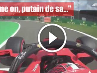"F1 - GP Belgique, Charles Leclerc : ""Come on !!! putain de sa…"""