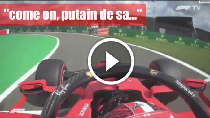 """F1 - GP Belgique, Charles Leclerc : """"Come on !!! putain de sa…"""""""