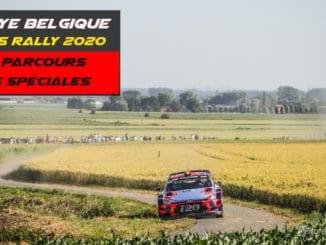 Les spéciales du Rallye de Belgique 2020