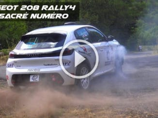 Peugeot 208 Rally4 un sacré numéro