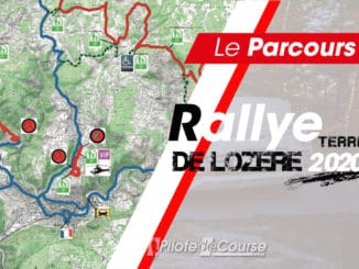 carte générale Rallye Terre de Lozère 2020