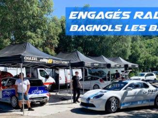 Engagés Rallye Bagnols les Bains 2020