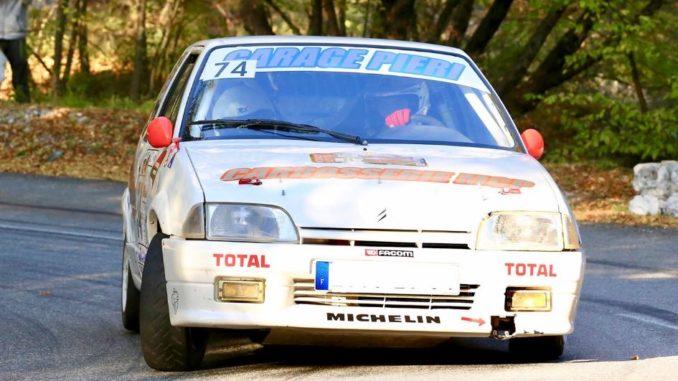 Tristan Pieri et Léo Cantallops. Rallye de la Croisette 2019