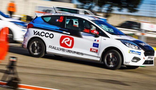 Tristan Pieri lors de Rallye Jeunes 2019