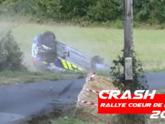 Crash au Rallye Coeur de France 2020