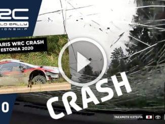 Enorme crash en Estonie