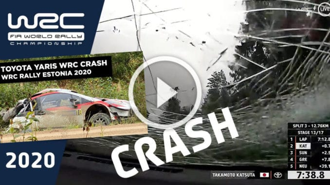Enorme crash en Estonie