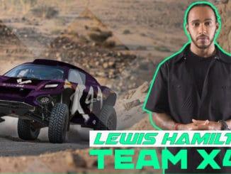 Lewis Hamilton se lance en Rallye-Raid
