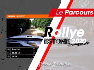 Les spéciales du Rallye Estonie 2020