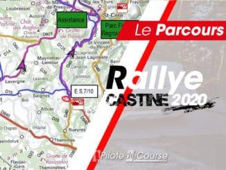 Programme et cartes Rallye Castine Terre d'Occitanie 2020