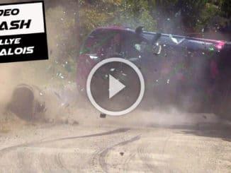 crash Rallye Cigalois 2020