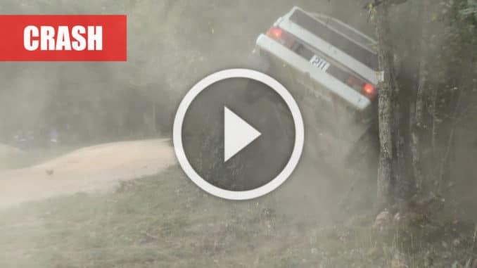 crash rallye castine 2020