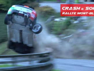 Crash Rallye Mont-Blanc 2020