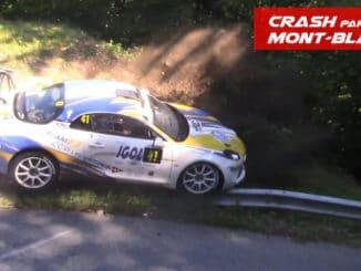Crash Rallye Mont-Blanc 2020 Partie 2