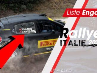 Engagés Rallye Italie Sardaigne 2020