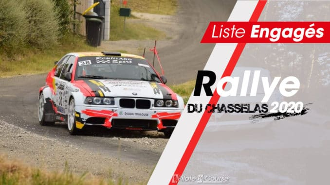 Engagés Rallye du Chasselas 2020