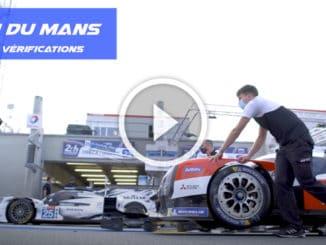 Les vérifications aux 24 Heures du Mans 2020