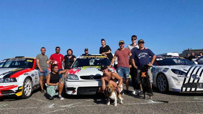 Podium lors du Rallye du Chasselas 2020 pour Julien Casale