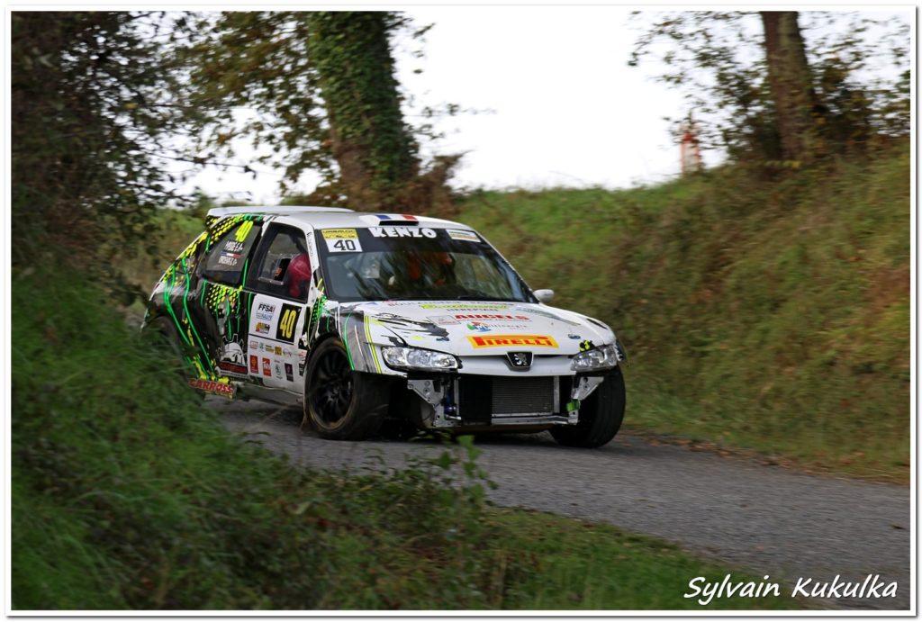 Benjamin Cardenas malchanceux au Rallye des Côtes du Tarn 2020