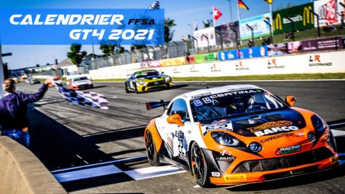 Calendrier FFSA GT 2021   Pilote de Course